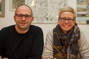 "Das Kümmere-Duo des Projektes ""Digitales Dorf Hedem"" besteht aus Oliver Tempelmeier und Eva Rahe."